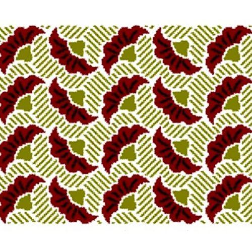 Oriental Fans Tapestry Crochet Chart, vía RuskaM Ravelry