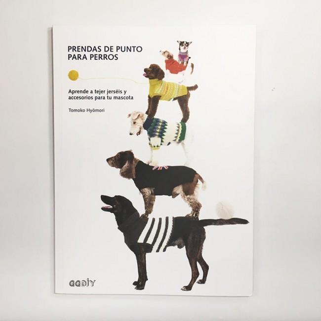Libro de patrones \'Prendas de punto para perros\'