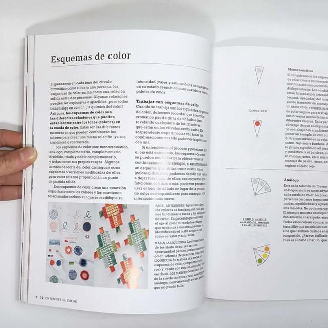 Diseña tus paletas de color para bordar de Karen Barbé