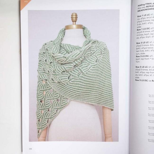 Knitting Brioche Lace by Nancy Marchant