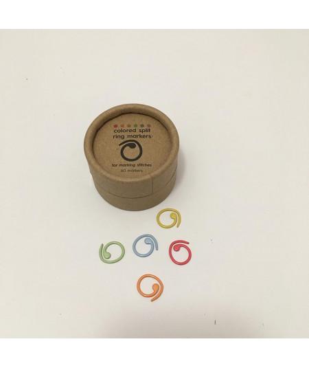 Marcadores de punto de anilla abierta de Cocoknits