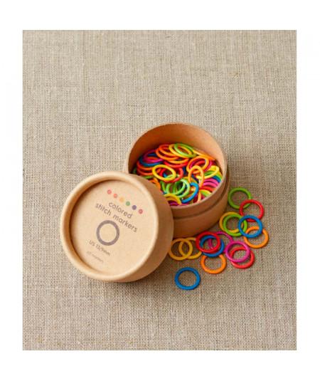 Marcadores de puntos de anillas de colores Large