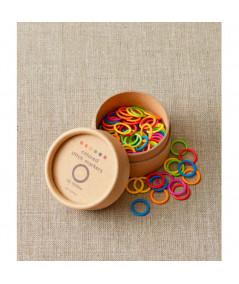 Marcadores de puntos de anillas de colores de Cocoknits