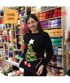 Tutorial Ugly Sweater: motivos navideños a ganchillo para reciclar un jersey