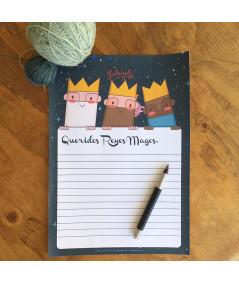 Carta de los Reyes Magos Lalanalú descargable