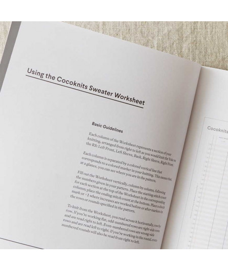 Sweater Worksheet Journal de Cocoknits