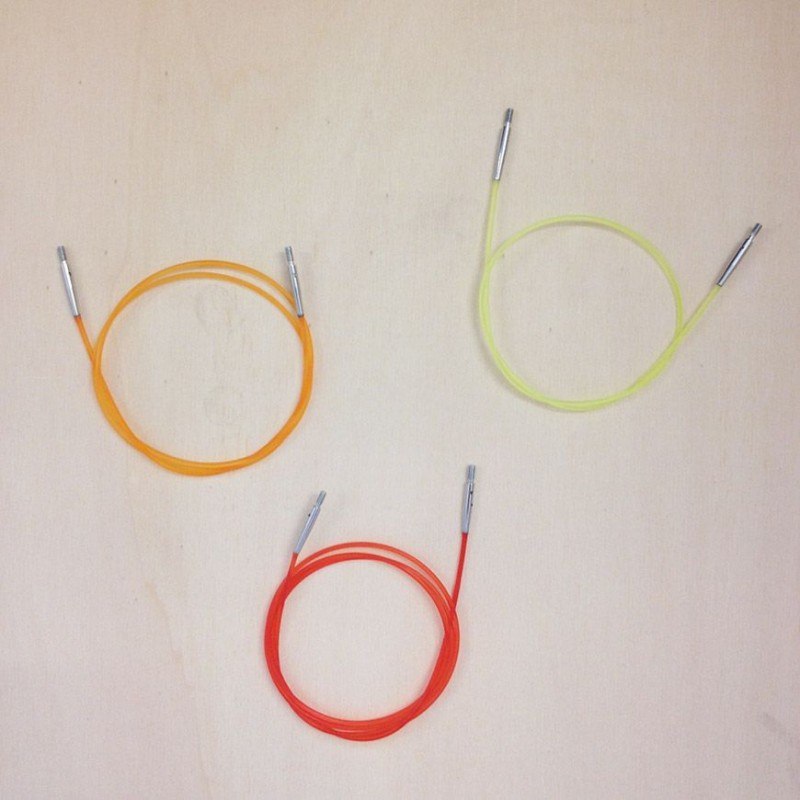 Cables para agujas intercambiables de Knit Pro y DamaPatch