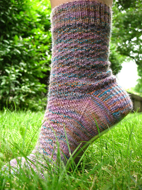Hermione's Everyday Socks by Erica Lueder, vía Ravelry