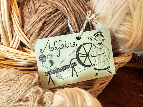 Alfeire, lana de Retrosaria