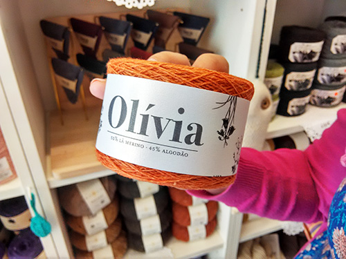 Olivia, lana de Ovelha Negra