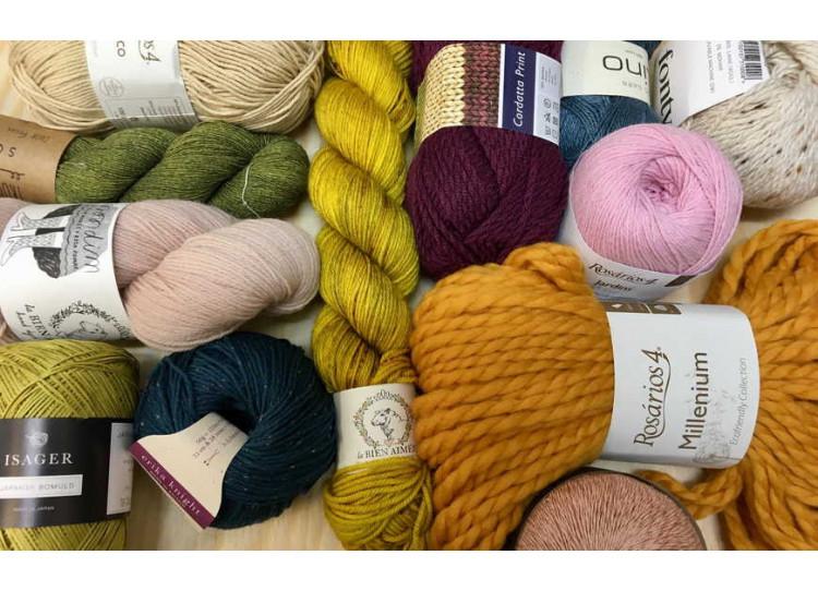 Clasificación de lanas por su grosor: cómo se miden los hilos para tejer