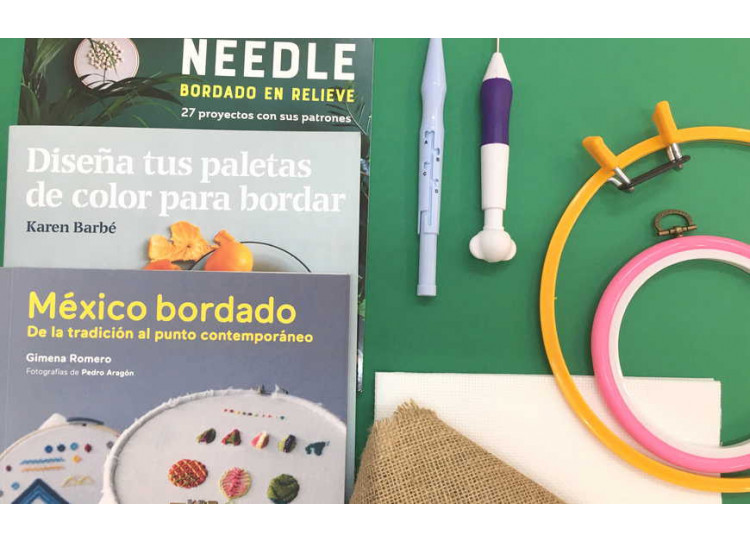 Bordar con Punch Needle o aguja mágica ¡Tachán!