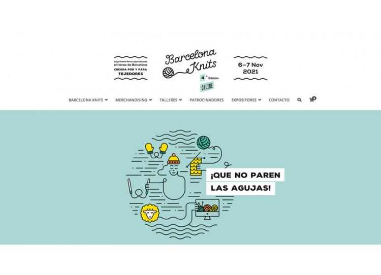 Barcelona Knits 2021: La 4ª edición de la fiesta de la lana, online